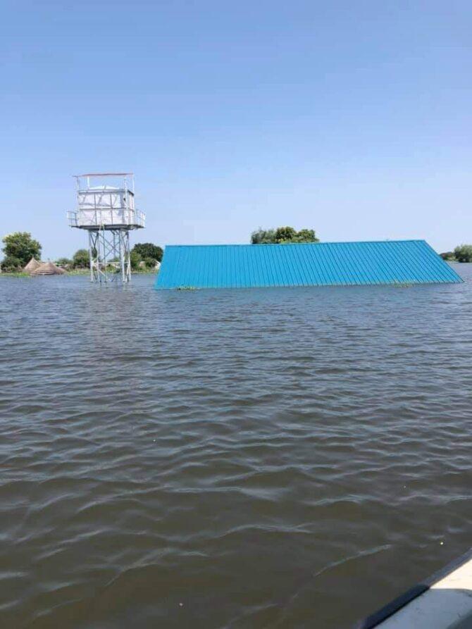 September 2020 Mega-Überschwemmungen im Südsudan